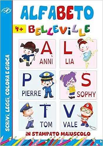 Alfabeto Belleville Amazonit Libri