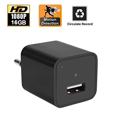 Adaptador USB de 16 GB para cámara espía oculta de detección de movimiento, ...