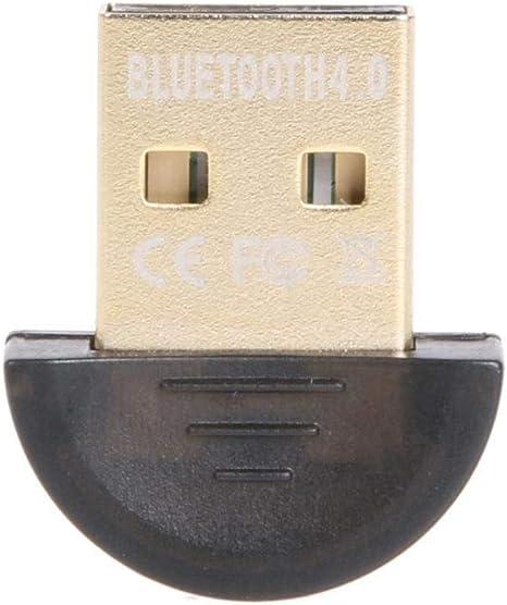 1PCS Mini USB Bluetooth V4.0 20M 3Mbps Dongle Dual Mode Wireless Adapter