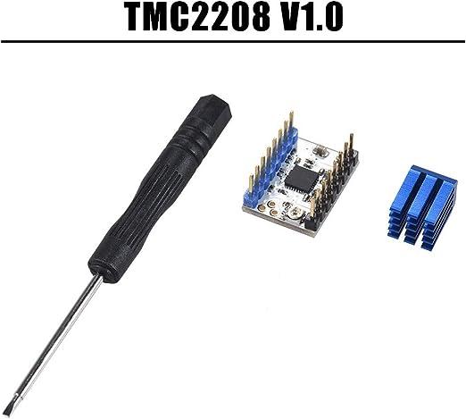 IJeilo 1pc TMC2208 V1.0 Motor de Pasos del Silencio Módulo ...