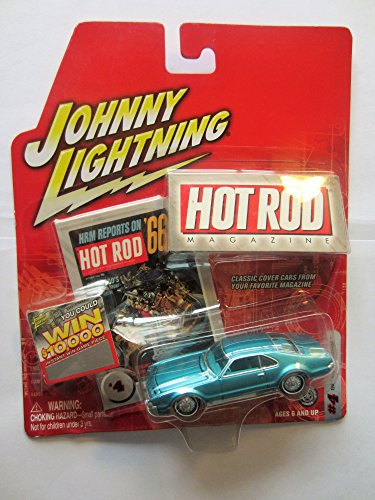 JOHNNY LIGHTNING 2004 HOT ROD MAGAZINE 1966 OLDSMOBILE TORONADO