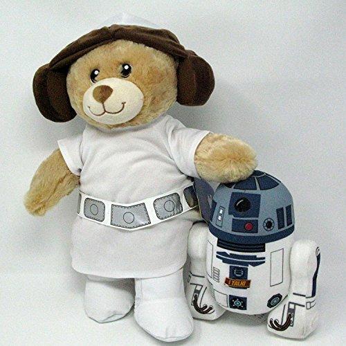 [Build A Bear Princess Leia Organa and R2D2 Robot Plush Set] (Authentic Princess Leia Costumes)