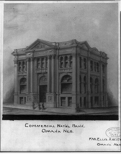 (Photo: Commercial National Bank,Omaha,NE,Douglas County)