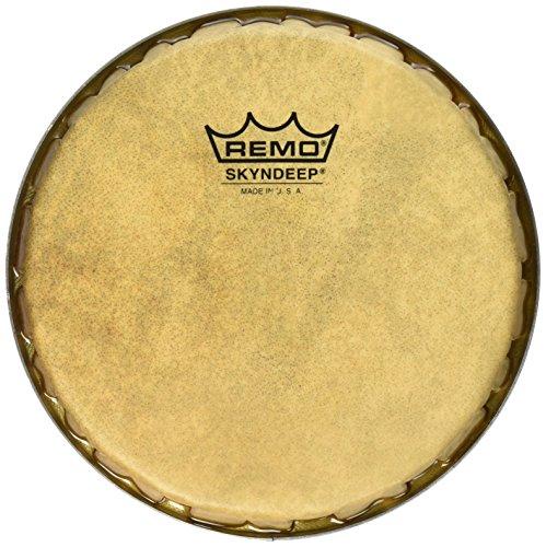 - Remo R-Series Skyndeep Bongo Drumhead - Calfskin Graphic, 7.15