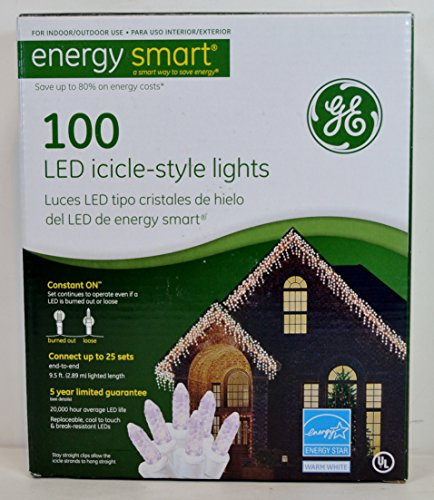 Ge 100 Count Led Icicle Lights in US - 6