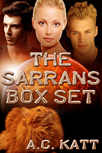 The Sarrans -- 4 MMF Sci-Fi Romance Novels in 1 Box Set