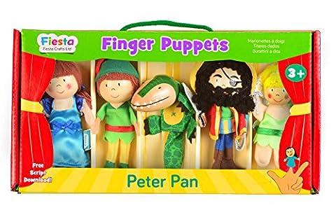 Tellatale Peter Pan Finger Puppet Set - Peter Pan Toy