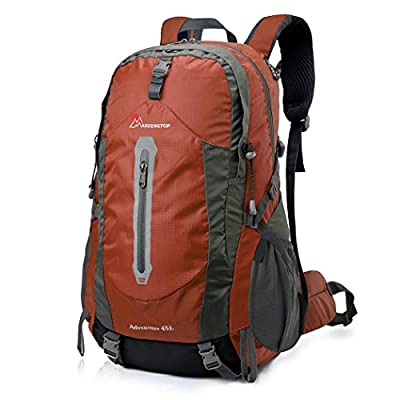 Mardingtop 45L Water-resistant Hiking Daypack/Camping Backpck/Travel Daypack/Casual Backpack for Outdoor Climbing School-5458