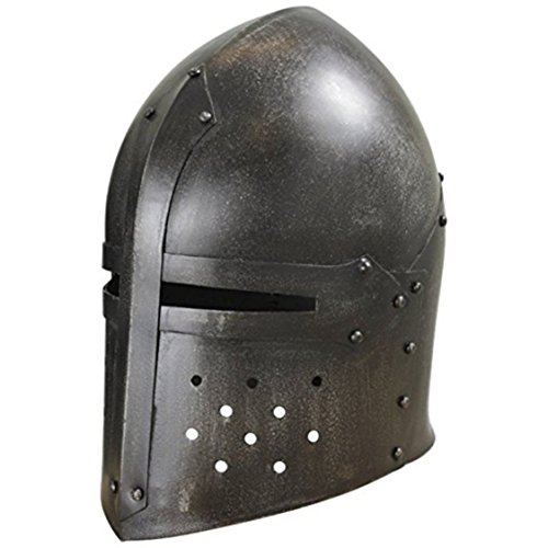 THORINSTRUMENTS (with device) Thor Dark Sugar Loaf Helmet Armour