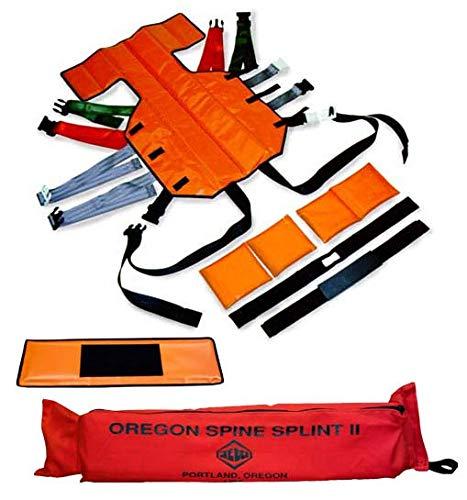 (CMC RESCUE 753001 Skedco Oregon Spine Splint II Orange)