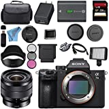 Sony ILCE7M3/B Alpha a7 III (A7M3) Mark 3 Mirrorless Digital Camera (Body Only) + Sony E 10-18mm f/4 OSS Lens SEL1018 + 256GB SDXC Card Bundle