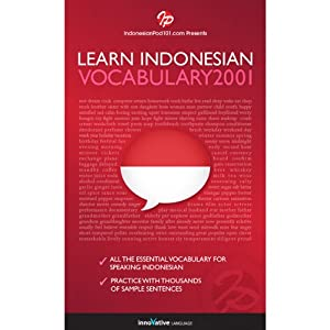 Learn Indonesian - Word Power 2001 Audiobook