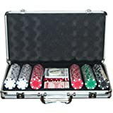 Ambassador ProPoker 300 Poker Chips in Luxury Aluminum Case