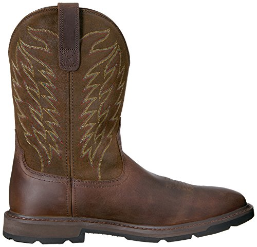 Ariat Arbeids Menns Ground Arbeid Boot, Brun, 8 2e Oss Brun