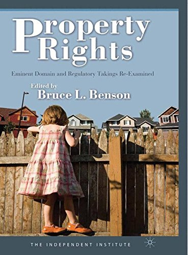 Download Property Rights: Eminent Domain and Regulatory Takings Re-Examined pdf