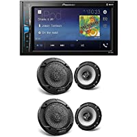 Pioneer Digital Multimedia Video Receiver with 6.2 WVGA Display, and Built-in Bluetooth (Does NOT Play CDs) Kenwood KFC-1666S 600W Max (60W RMS) 6.5 KFC 2-Way Coaxial Car Speakers