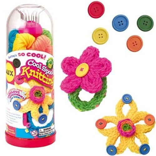 Alex toys craft cool spool knitting kit import it all for Alex co amazon
