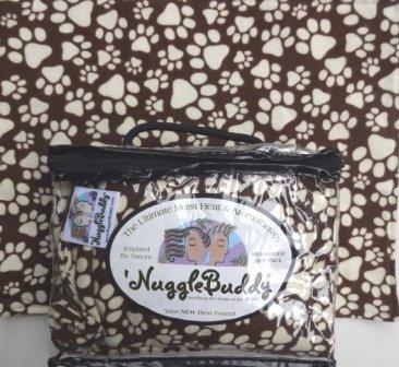 'NUGGLEBUDDY NEW! Moist Heat & Aromatherapy Organic Rice Pac