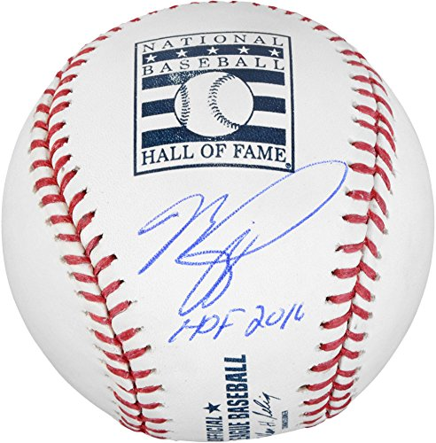 Mike Piazza Autograph (Mike Piazza New York Mets Autographed Hall of Fame Logo Baseball with HOF 16 Inscription - Fanatics Authentic Certified)