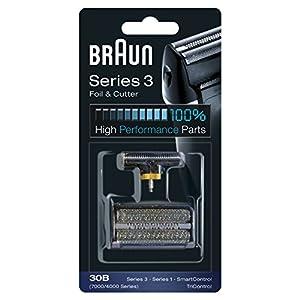 Braun 30B Replacement Foil and Cutter Cassette Multi Black BLS Combi Pack