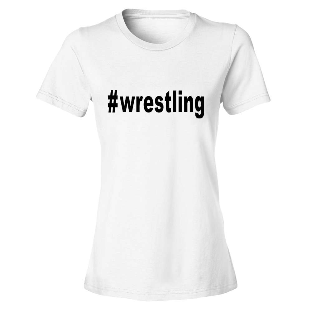 OKnown Wrestling Print Funny T Shirts for Women