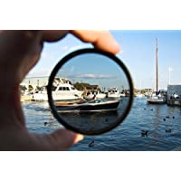 C-PL (Circular Polarizer) Multicoated | Multithreaded Glass Filter (55mm) For Nikon D3400