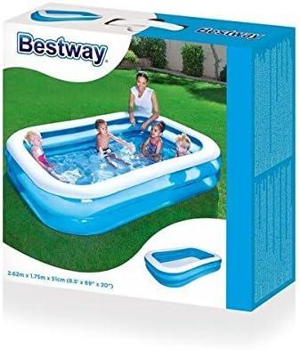 Bestway Piscina 2, 62 X 1, 75 m niños Piscina Jardín Familia Pool planschbecken: Amazon.es: Jardín
