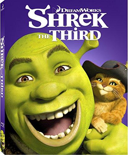 Shrek the Third Blu-ray w/ Family Icons Oring