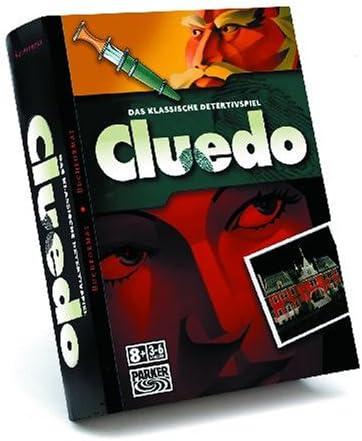 Hasbro - Cluedo Edición Libro (versión en alemán): Amazon.es: Juguetes y juegos