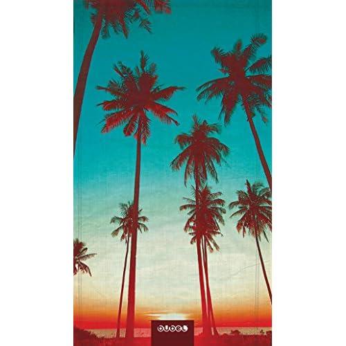 Bubel Miami Beach Serviette Palmiers Vert