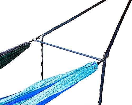 Eagles Nest Outfitters ENO Fuse, Tandem Hammock System, Slate