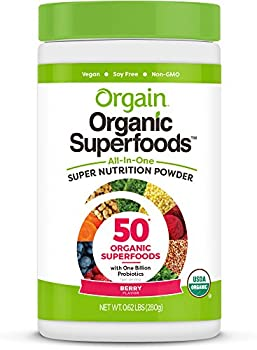 Orgain Organic Superfoods, Berry, 0.62 Pound