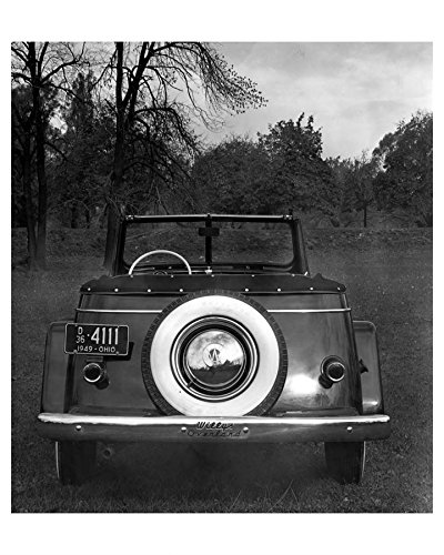 1949 Willys Overland Jeepster Factory Photo