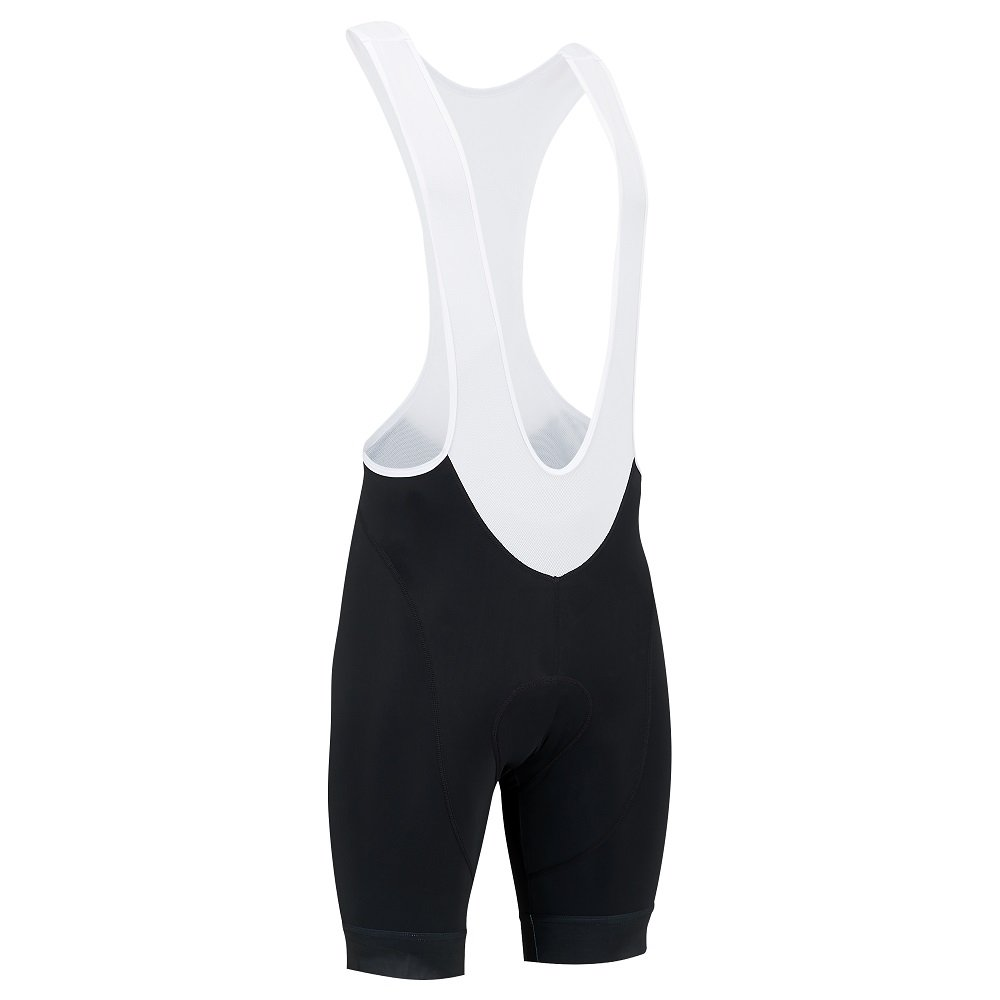 Tenn ClasseシリーズメンズBib Shorts B077G9VPDZ  ブラック/ホワイト Waist 38-40\