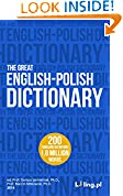 The Great English-Polish Dictionary (2 million words)
