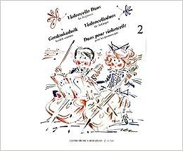 Amazoncom Editio Musica Budapest Violoncello Duos For