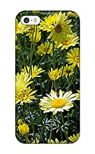 Top Quality Rugged Summer Flowers Case Cover For Iphone 5/5s