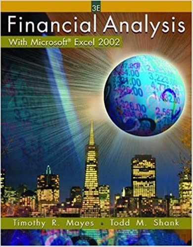 Financial Analysis with Microsoft Excel 2002: Timothy R. Mayes ...
