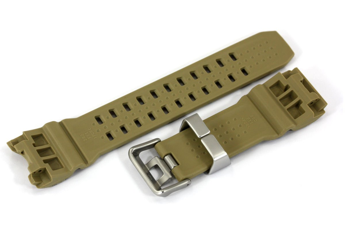 Casio 10531546 Genuine Factory Replacement Resin Watch Band fits GWG-1000DC-1A by Casio (Image #2)