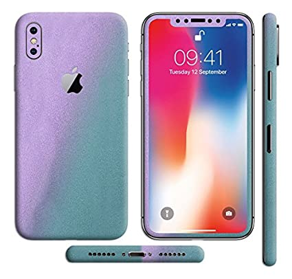 cheaper fa767 55139 SLICKWRAPS Apple iPhone 10 iPhone X Color Shift: Amazon.in: Electronics