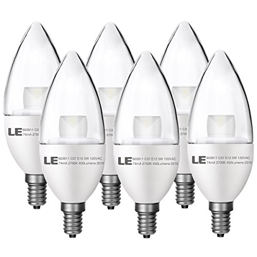 Candelabra Bulbs Incandescent Equivalent Candle