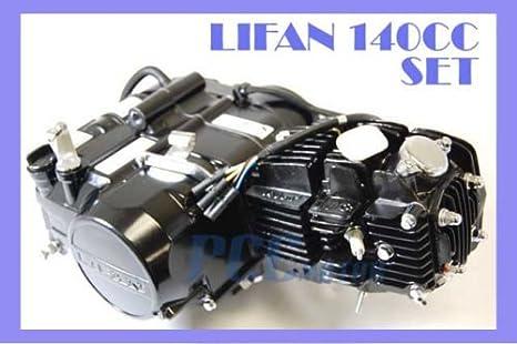 45L LIFAN 140 ccm-Motor Motor 4 bis + Ölkühler Dirt Bike 107 125 cc ...