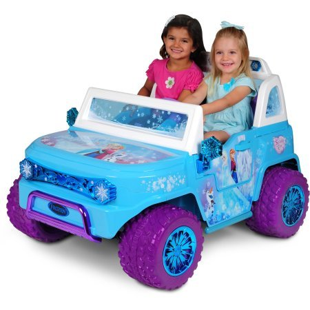 Disney Frozen SUV 12V Battery-Operated Ride-On (Disney Frozen Suv 12v Battery Operated Ride On)