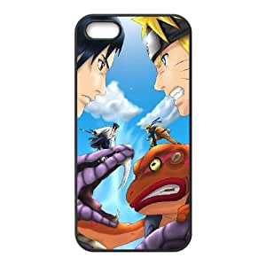 COOL Creative Desktop NARUTO CASE For iPhone 5, 5S Send tempered glass screen protector Q84D803121