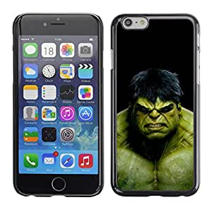 Ihec Tech EL MONSTRUO VERDE / Funda Case back Cover guard / for Apple Iphone 6 Plus 5.5