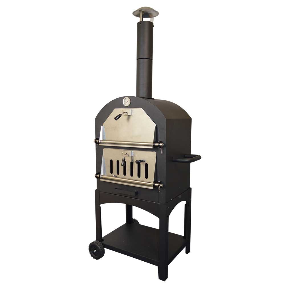 Outdoor Traditional Pizza Oven Garden Charcoal Barbecue Grill Unbranded