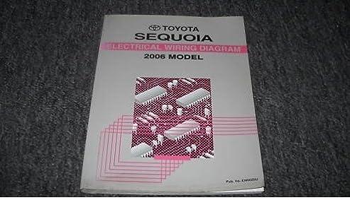 2006 toyota sequoia electrical wiring diagram service shop repair Toyota Radio Wiring Diagram