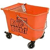 Zorr Corp RBC-323 Roll A Bucket, Orange