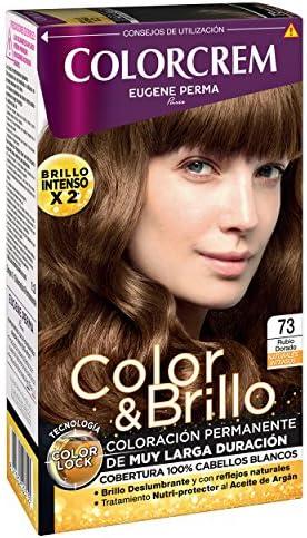 COLORCREM tinte Rubio Dorado Nº 73 caja 1 ud: Amazon.es ...
