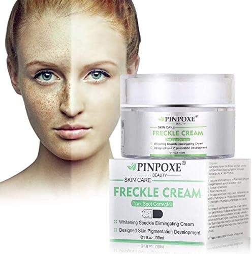 Whitening Cream, Freckle cream, Skin Brightening Cream, Bleaching Cream, Freckle Fade Removal, Dark Spot Corrector Remover, Whitens, Nourishes, Repairs & Restores Skin